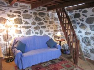 Lounge area of La Casita